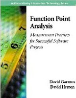 Review of book: Function Point Analysis: Measurement