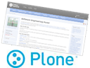 Plone CMS - a set of products to build a site
